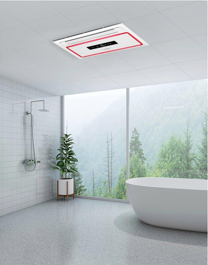 菲斯格樂浴室暖空調圖片 現代簡約風格裝修效果圖