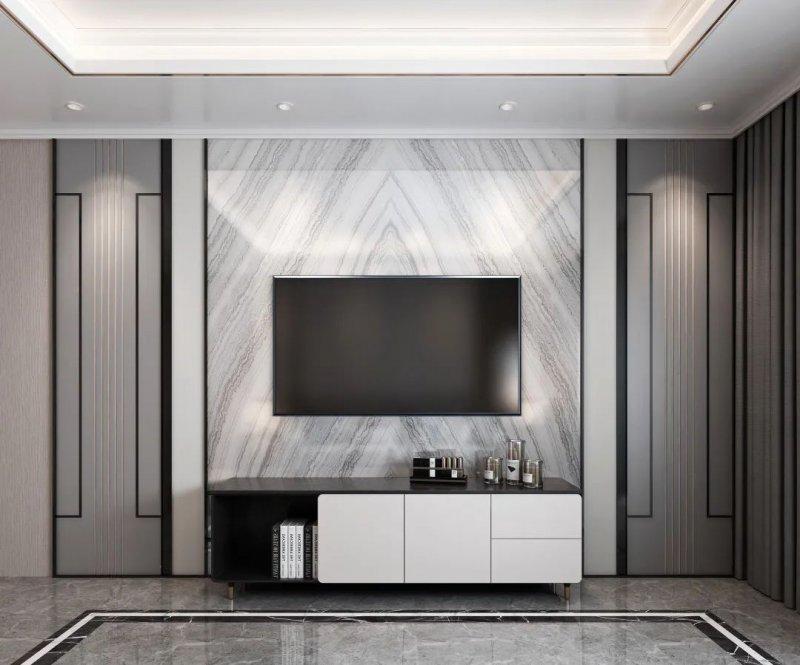 巴迪斯背景墙装修设计图片 现代简约风格装修效果图_16