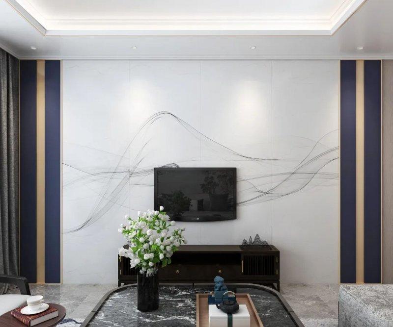 巴迪斯背景墙装修设计图片 现代简约风格装修效果图_15