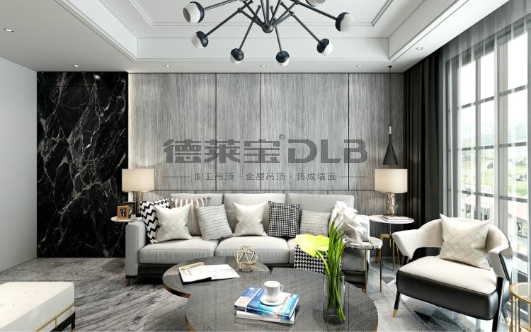 德莱宝大板家居装修图片 轻奢家居装修风格效果图_3