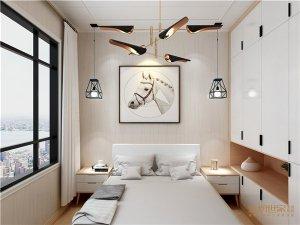 金粉世家集成吊顶黑白灰设计 北欧风格装修效果图