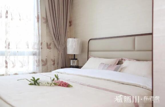腾川•布老虎窗帘软装搭配图片 现代简约风格装修效果图_4