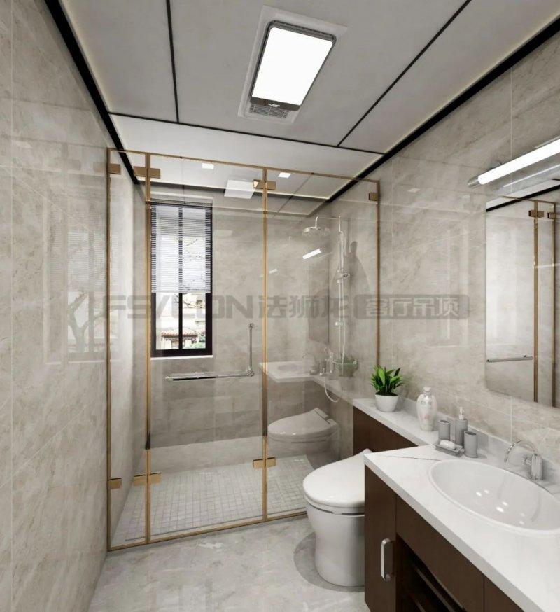 法狮龙客厅吊顶121㎡装修图片 中式风格吊顶效果图_6