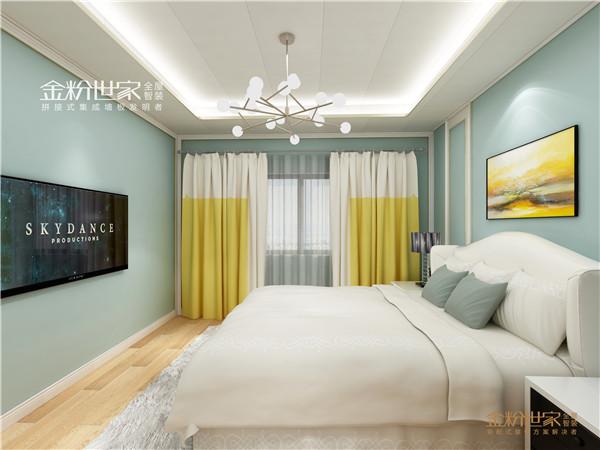 金粉世家集成吊顶卧室装修图片 欧式风格装修效果图