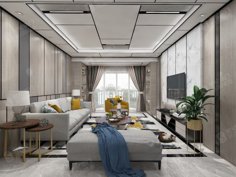 世纪豪门吊顶家居装修图片 欧式风格装修效果图