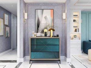比美特艺术壁材系列图片 法式轻奢风装修效果图