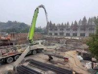 腾川布老虎窗帘三期工程建设如火如荼加紧施工