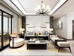 兰居尚品整体家居系列图片 新中式风装修效果图