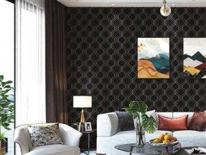 玉麒麟墙布系列图片 客厅装修效果图