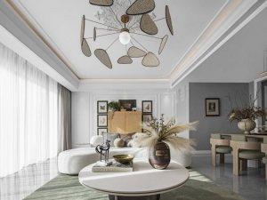 伊卡洛斯窗帘布艺系列图片 法式风效果图