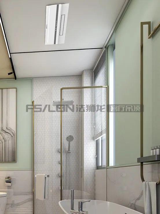 法狮龙客厅吊顶系列图片 北欧轻奢风效果图_21