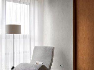 大唐天下墙纸墙布图片 高级灰+撞色装修效果图