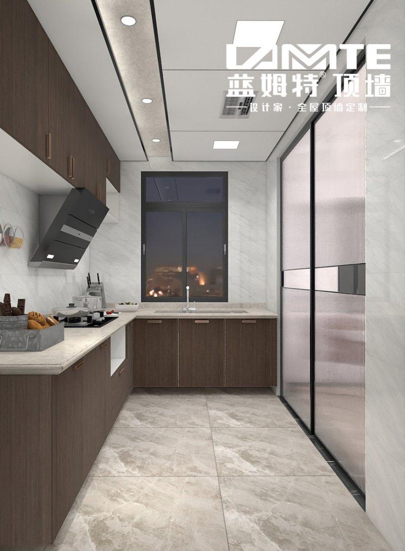 蓝姆特顶墙图片  厨房装修效果图_2