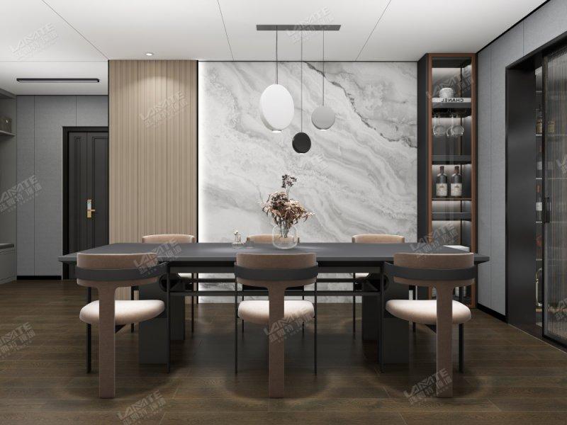 蓝姆特顶墙产品图片  餐厅装修效果图_1