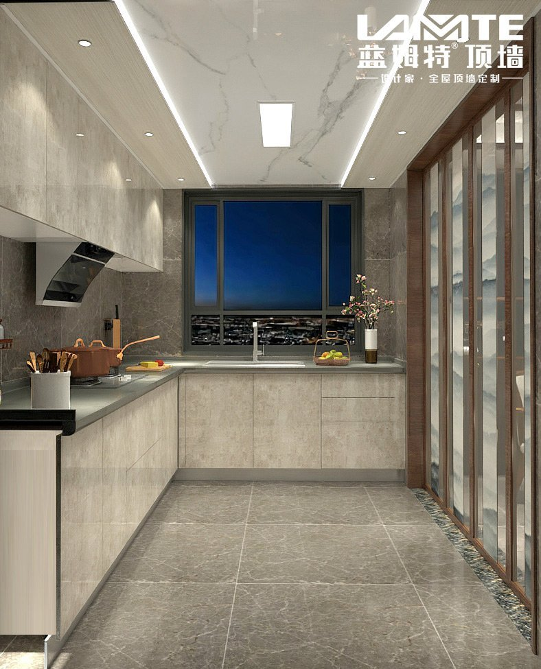 蓝姆特顶墙产品图片  厨房装修效果图_5