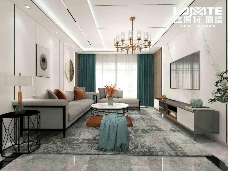 蓝姆特顶墙产品图片  现代客厅装修效果图_1
