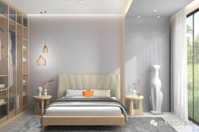 比美特艺术壁材系列图片 侘寂风装修效果图_9